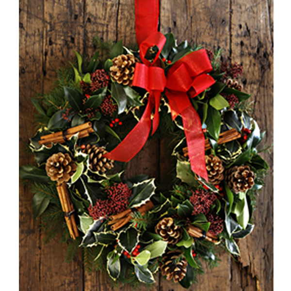 Christmas Wreath Christmas flower delivery Sheffield