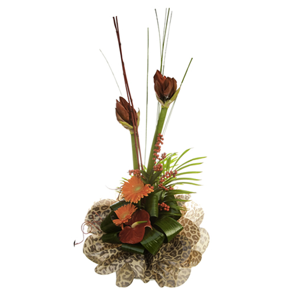 Christmas modern bouquet Christmas flower delivery Sheffield