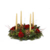 advent candle ring Christmas flower delivery Sheffield