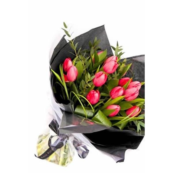 Christmas Tulip Bouquet