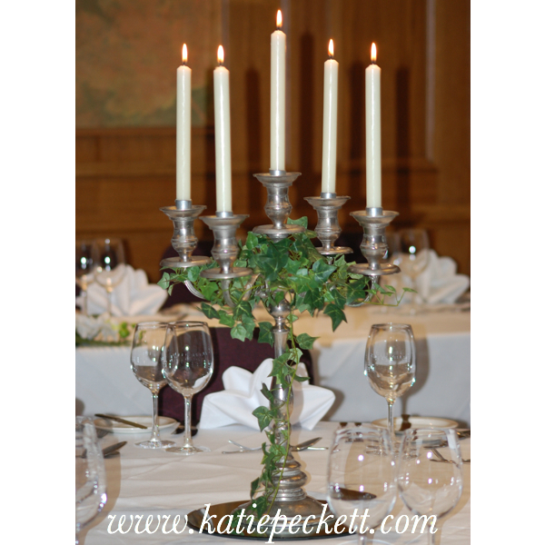 Candleabra Wedding Table Centerpiece (To Hire)
