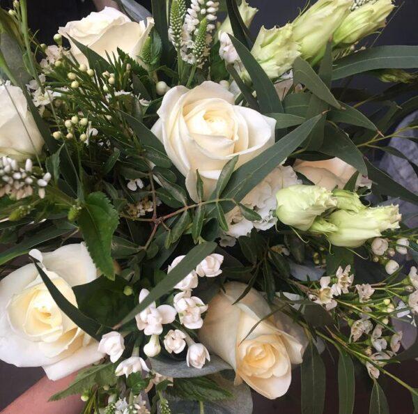 Katie Peckett's pure finesse bouquet Sheffield florist