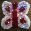 Sheffield funeral flowers butterfly floral tribute
