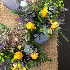 autumn brights bouquet florist Sheffield