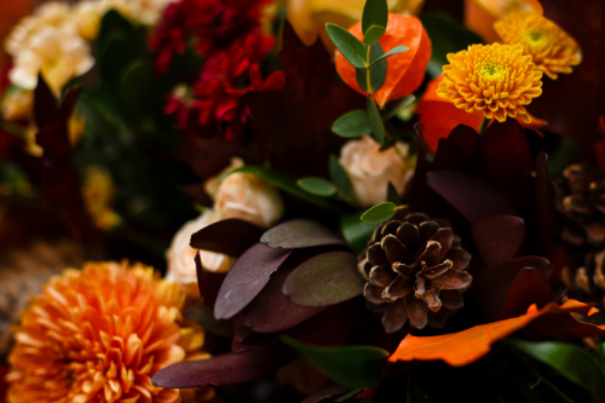 Floral Trends for Autumn from Leading Sheffield Online Flower Delivery