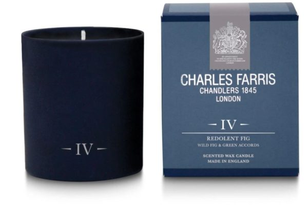 Charles Farris redolent fig candle
