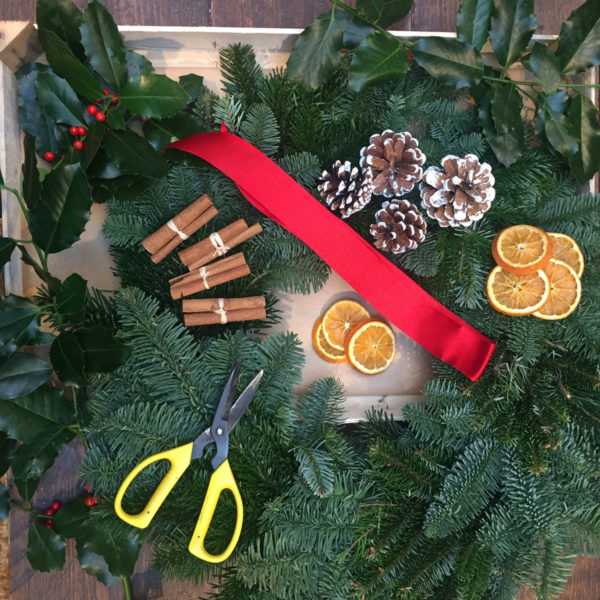 Christmas wreath making pack
