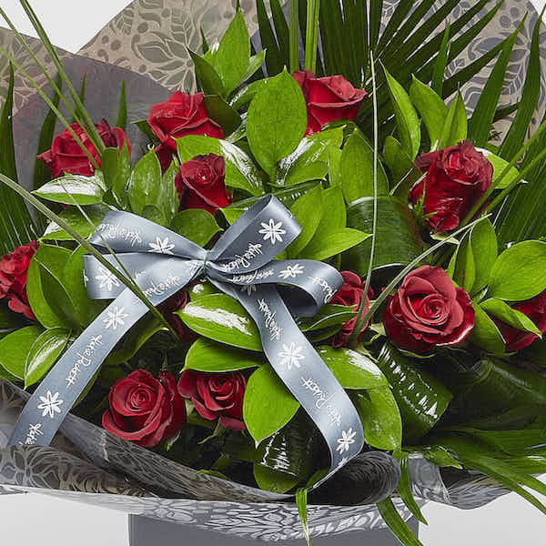 sheffield florist Katie Peckett dozen red roses