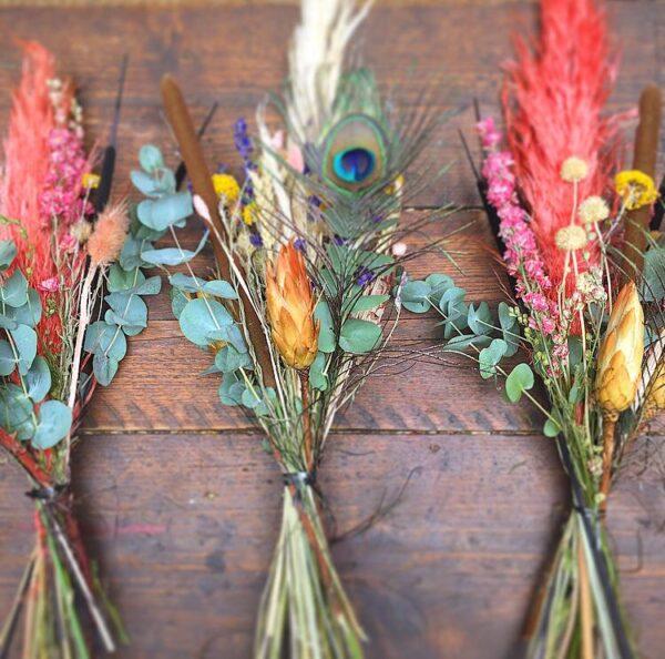 dried flowers bouquet Sheffield florist
