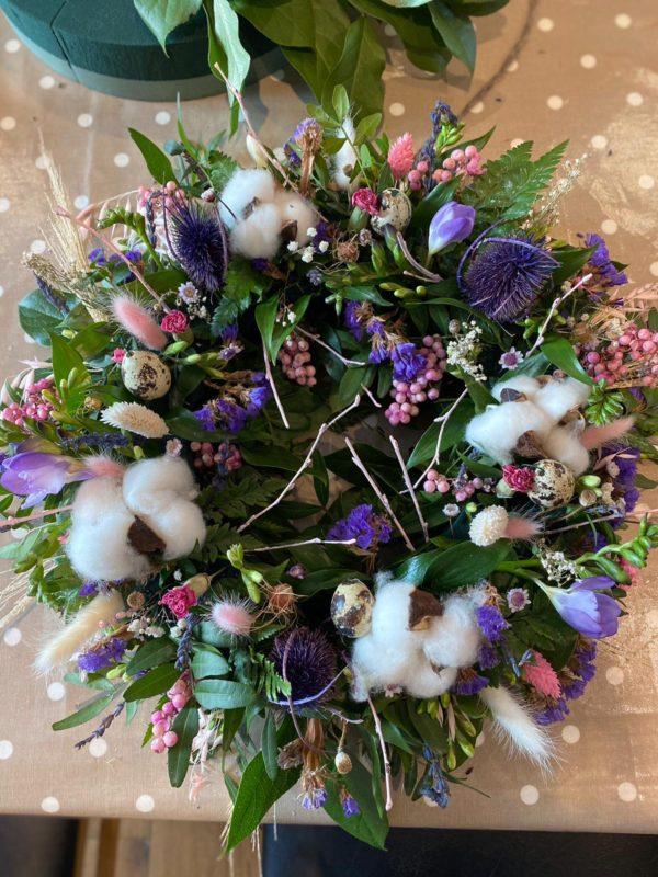 Easter wreath kit