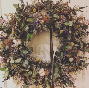 easter wreaths sheffield