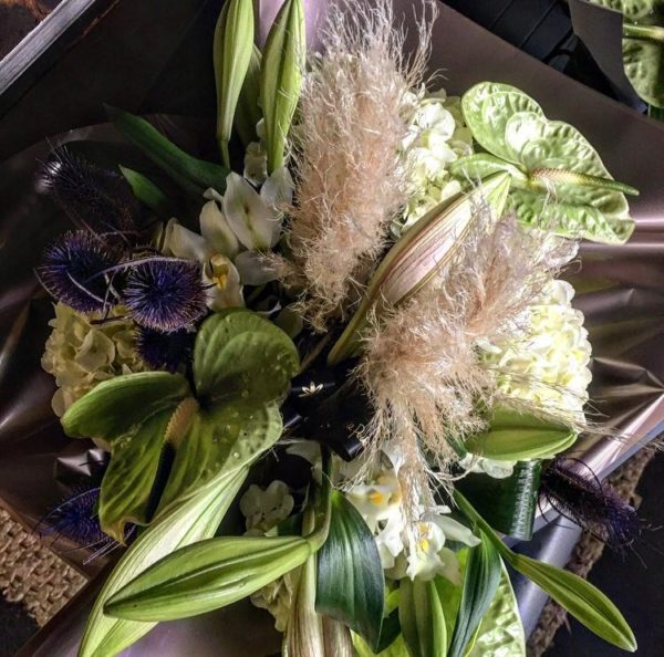 exclusive contemporary bouquet flowers Sheffield