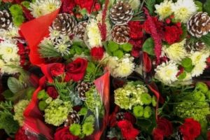 flower delivery Sheffield florist shop Christmas flowers