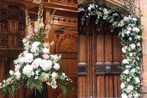 flowers for church weddings florist Sheffield