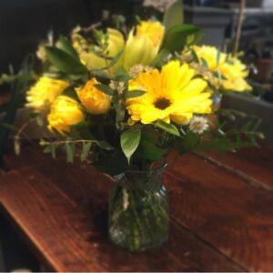 forever sunshine bouquet florist Sheffield