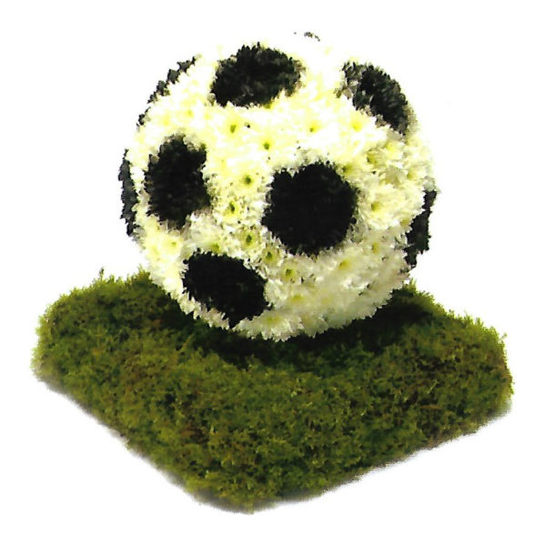 funeral flowers Sheffield football floral tribute