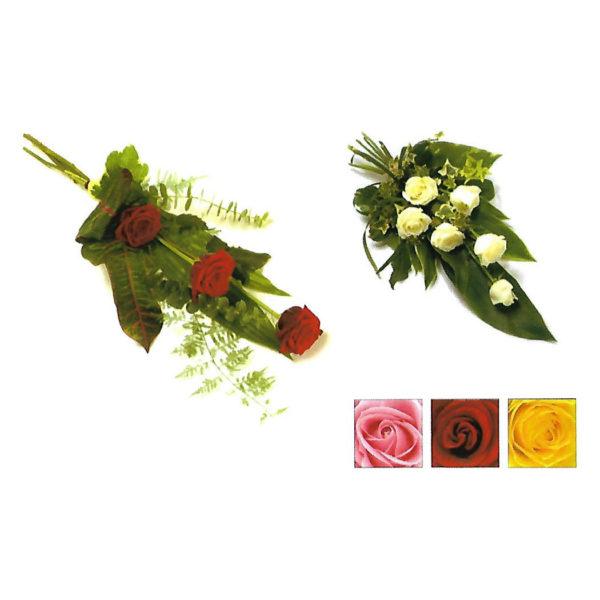 funeral flowers Sheffield rose tied sheaf