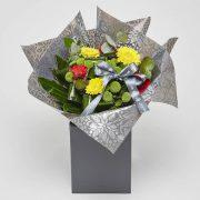 gerbera bouquet from sheffield florists katie peckett