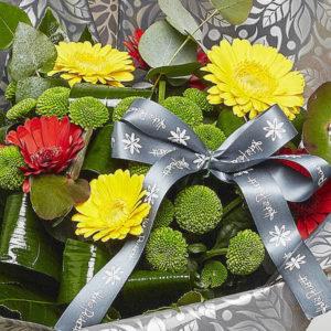 sheffield florist katie peckett gerbera bouquet