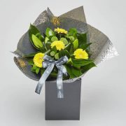 lily gerbera bouquet by katie peckett sheffield florist