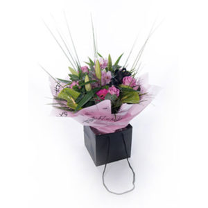 luxury flower bag Sheffield online flowers
