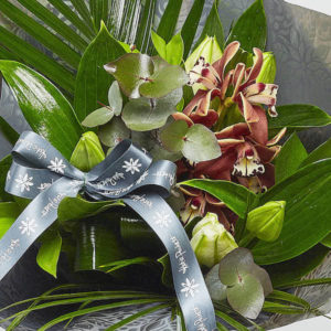 orchi and lilies bouquet online