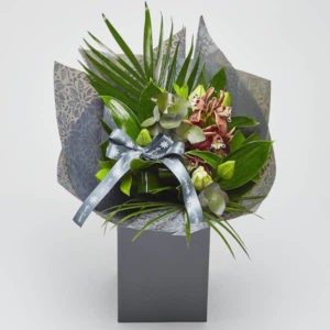 orchid and lilies bouquet online
