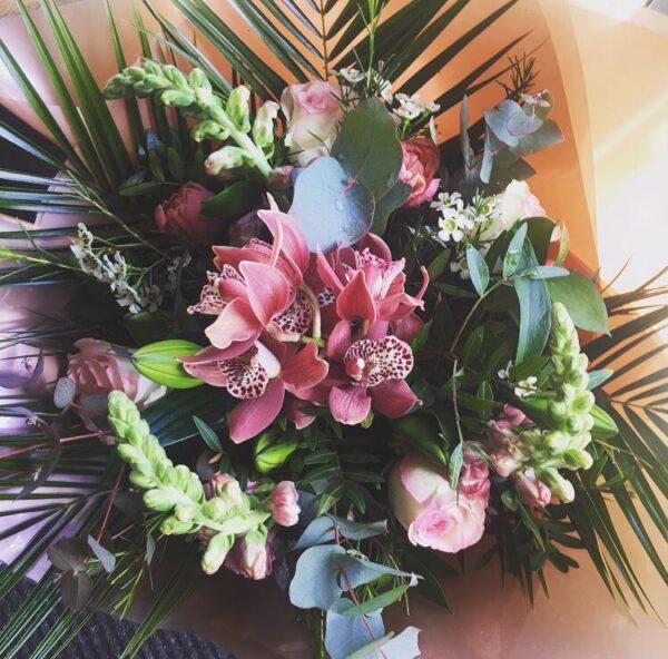 Pink Heaven Bouquet flowers Sheffield