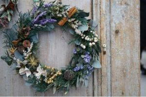 Sheffield florist Christmas Wreath