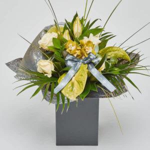 luxury bouquet of flowers by sheffield florist katie peckett