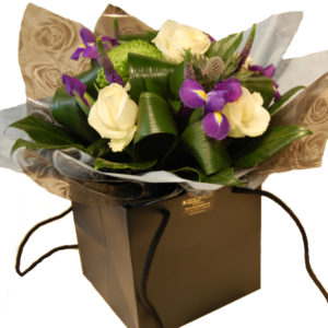 spring flowers gift bag Sheffield online flowers