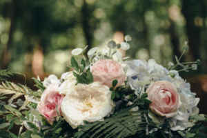 wedding flowers Sheffield flower delivery soft colours
