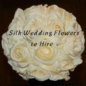 Flower Shop Sheffield - Silk Wedding Flowers to Hire