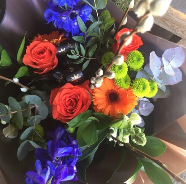 zingy summer blooms florist Sheffield
